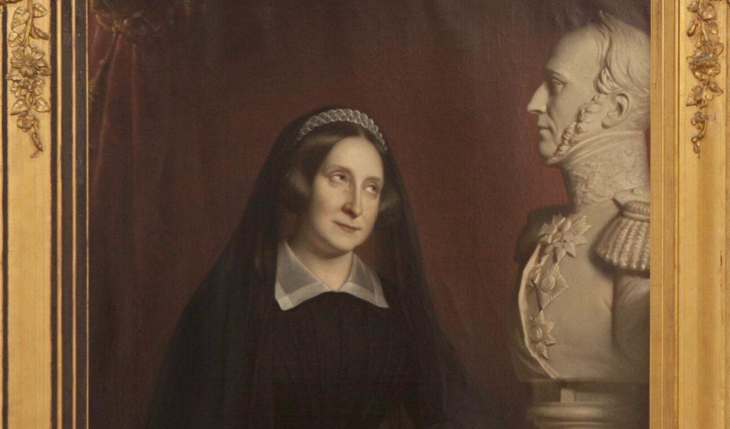Anna Paulowna herbegraven in Delft