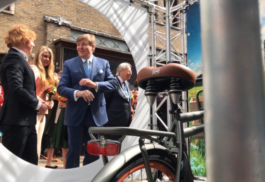 Willem-Alexander verklapt zijn sportgeheim