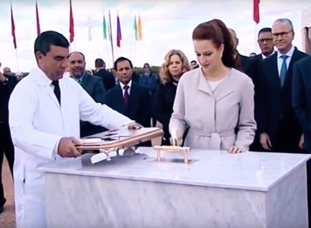 Verdwenen Marokkaanse prinses LALLA SALMA weer aan het werk!