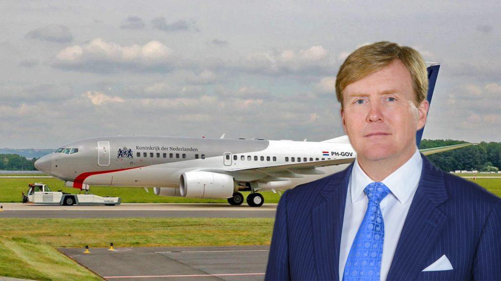 Regeringsvliegtuig heeft vertraging – Koning Willem-Alexander niet met PH-GOV op staatsbezoek naar Ierland