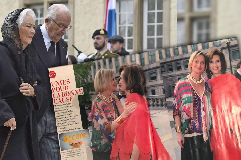 Een foto die koning Albert NIET wil zien! Delphine Boël op de foto met haar tante, prinses Esmeralda