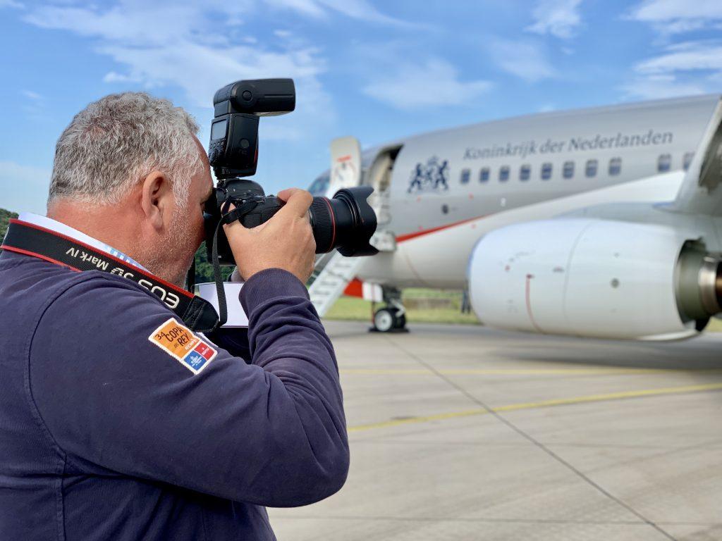 Zien: het nieuwe vliegtuig van Koning WA en kabinet