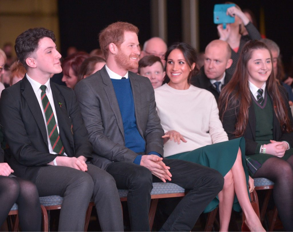 Suss-EX ROYAL!<BR><small>'Royal' verbod voor Harry en Meghan</small>