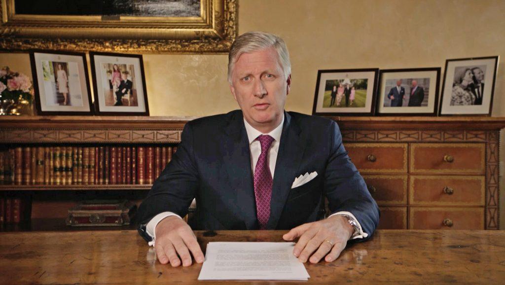 Corona-crisis: Koning Filip spreekt zijn land toe